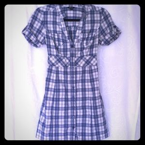 Guess dress plaid